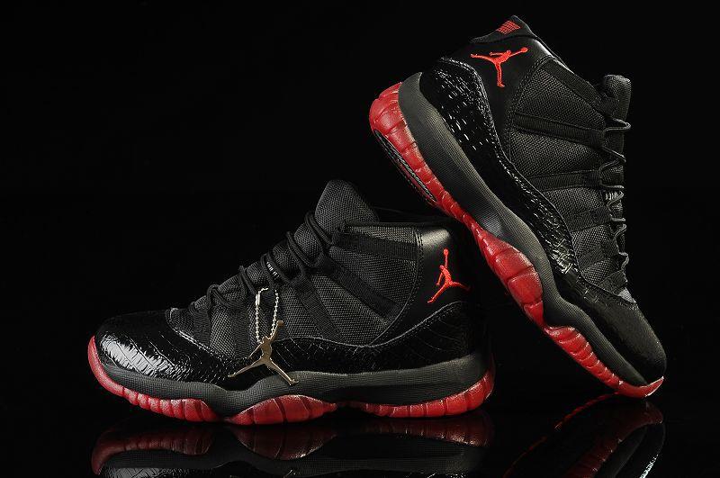 8f5c2304e19bd9 Air Jordan 11 Mens Shoes Aaa Black White Online  nike1129  -  80.88 ...